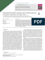 Understanding the Behaviour of Graphene Oxide in Portland Cement Paste
