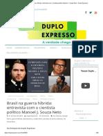 Brasil Na Guerra Híbrida_ Manoel J de Souza Neto