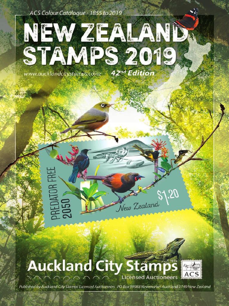 b3894be3d887 ACS NZ Stamp Catalogue 2019 | Philately (3.1K views)