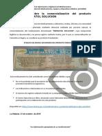 Invima Alerta Sobre La Comercializacion Del Producto Fraudulento Dermatol Solucion