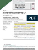 La Tormentosa Relación Entre Las Grasas y El Desarrollo de La Diabetes Mellitus de Tipo 2 Actualizado. Parte 1