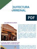 ARQUITECTURA VIRREINAL 2