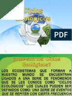 CICLOS ECOLOGICOS