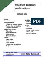 Curso Estruturas Metalicas - Dimensionamento - Topicos.pdf