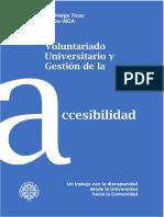 Libro-Inca Voluntariado Universitario y Gestión de La Accesibilidad