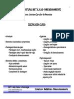 1 - Curso Estruturas Metalicas - Dimensionamento - Topicos.pdf