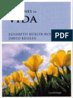 Lecciones de Vida - Elisabeth Kubler-Ross