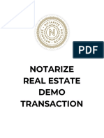 Realestate Demo Notarize