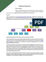1 Gestion de Proyectos COBIT 5 + PMBok 4