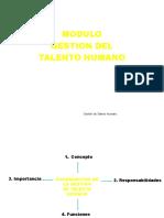 Tema 1- Gestión Del Talento Humano