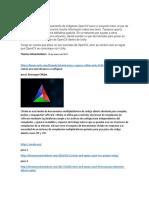 Investigacion sobre OpenCV.docx