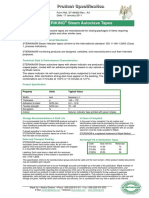 Autoclave Tape Product Specs