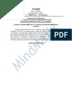 SAP FICO Sample Resume 1