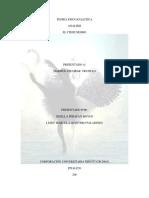 Teoria Psicoanalitica Cisne Negro