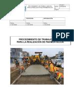 Procedimiento de Trabajo Seguro Pavimentacion
