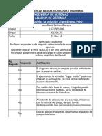 Respuestas Taller Analisis de sistemas - UNAD