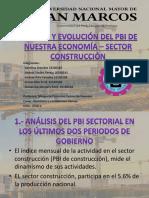 Análisis y Evolución Del PBI de la construcción en Nuestra Economía Final.