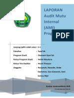 Format Laporan AMI-IAID
