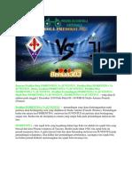 Prediksi Fiorentina vs Juventus 1 Desember 2018