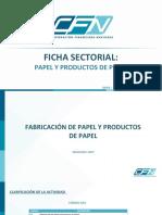 Ficha Sectorial Productos de Papel Dic 2017