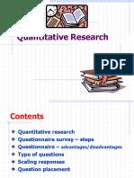 4. Quantitative Research Methodology