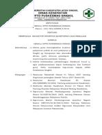 SPO penanganan KTD, KPC, KNC
