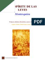 El Espiritu De Las Leyes - Montesquieu.pdf