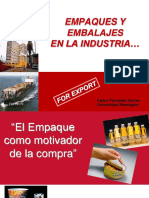 Empaques y Embalajes Completo
