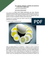 Actividad Caso Práctico (Huevo Pasteurizado)