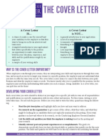 Cover Letter Guide Redesign