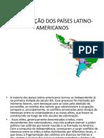 A Formação Dos Países Latino-Americanos