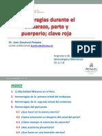 1.Hemorragia Obstetrica Dr Sandoval