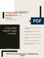 Process Safety Master Class I Sreejith Pillai 2018