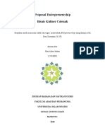 Proposal Entrepreneurship - Hiari Azhar Jauhari (1155030091)