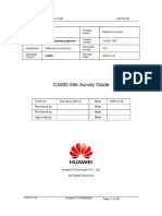 CX600 Site Survey Guide 1