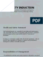 Safety Induction Eage