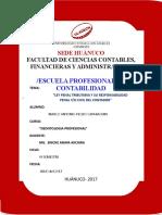 Ley Penal Tributario_responsabilidad Penal