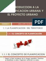 CAP 1. LA PLANIFICACIÓN URBANA