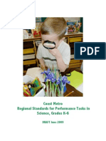 CoastMetro-Regional-Standards-for-Performance-Task- in-Science