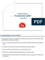 Concurrent Audit Module