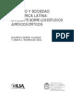Derecho y Sociedad- Mauricio García Villegas