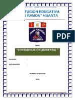 Contaminacion Ambiental en El Peru