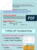 Types of Foundations
