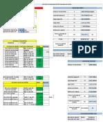 Hoja de Calculo Excel Para Calculo de Engranajes