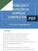 Contabilidad y Tributación en Empresas Constructoras