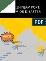 The Vizhinjam Port - Dream or Disaster - Nov 2017