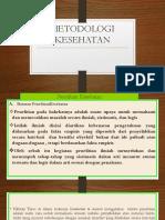 Metodologi Kesehatan (III)
