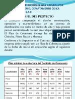 Calidda y La Distribucion Del Gas Natural en Lima
