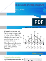 Presentation on Design of Steel Structure