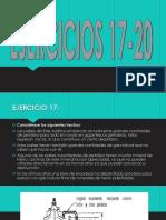 EJERCICIOS 17-20